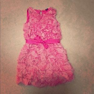 Baby Gap girls dress 2 tone pink pop dress.
